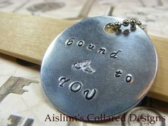 Bound to YOU BDSM Keychain by aislinnscollared on Etsy