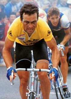 Like Merckx, French cyclist Bernard Hinault also has five Tour de France titles.