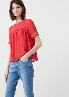 Flowy blouse - Shirts for Women | MANGO USA