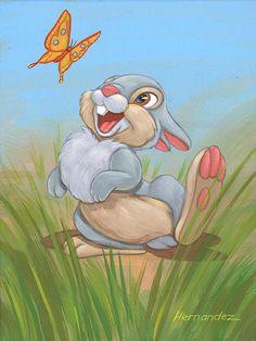 Thumper: By Manuel Hernandez, Disney Fine Art
