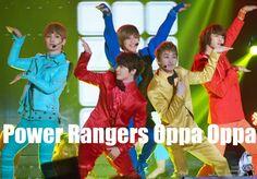 Kpop Power Rangers by cclelouchfan.deviantart.com on @deviantART