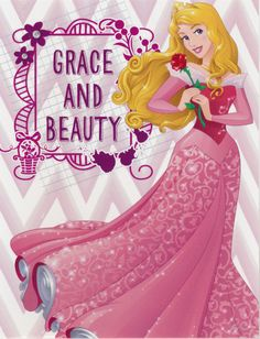 Grace and Beauty - Sleeping Beauty Postcard from Connie in St. Charles, Illinois, USA