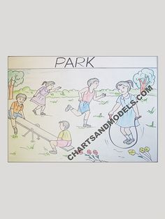 Buy Park Chart Online In Delhi Buy Park Charts Online for schools as well as students regarding their project.