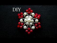 chinelo bordado com pérolas- renda de pérolas by cida reis - YouTube