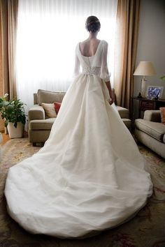 custom gown by sole alonso