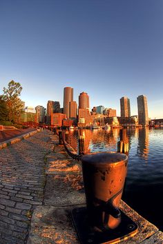 Boston Harborwalk at Fan Pier