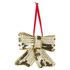 Buy Tesco Sequin Bow Hanging Decoration, Blue & Green from our Nostalgia range - Tesco.com