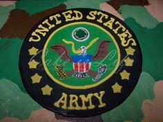 Army seal cake