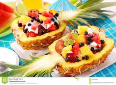 Relleno, Deli, Fruit Salad, Waffles, Pineapple, Brunch, Breakfast, Desserts, Food
