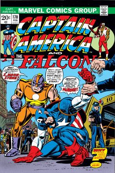 Captain America (1968) Issue #170 - Read Captain America (1968) Issue #170 comic online in high quality