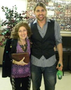 David Garrett and his teacher Ida Haendel. This gives me hope - to learn and play well.