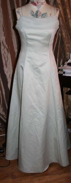 MICHAELANGELO Dress Pale Greenish blue Cocktail Evening Prom Formal Size 10