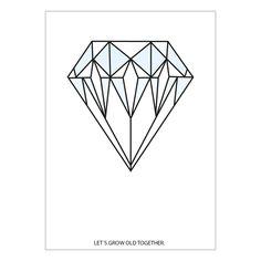 Leo & Bella | MiniWilla Diamond Poster