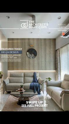 Bungalow Interiors, Living Room Tv Unit Designs, Coffee Table Design, Modern Exterior, Luxury Interior Design, Living Room Modern, Apartment Design, Modern House Design, Sofa Design