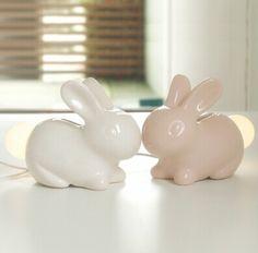 coniglietto lampada coniglio coda luce di notte comodino lampada da lettura scrivania divertimento lampadina led luminoso