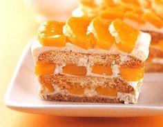 """foodsaroundtheglobe: """" Mango Cake / Mango Float usually made of layers graham crackers or lady fingers (broas) and cream. Mango Dessert Recipes, Mango Recipes, No Bake Desserts, Easy Desserts, Cake Recipes, Filipino Desserts, Asian Desserts, Filipino Recipes, Filipino Food"""