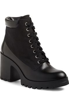 BP. Madison Lace-Up Boot (Women) | Nordstrom