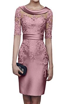 Shop a great selection of DMDRS Women's Half Sleeve Lace Sheer Short Evening Formal Wear. Find new offer and Similar products for DMDRS Women's Half Sleeve Lace Sheer Short Evening Formal Wear. Party Dresses With Sleeves, Dresses To Wear To A Wedding, Party Dresses For Women, Mother Of Groom Dresses, Mothers Dresses, Formal Wear Women, Short Dresses, Prom Dresses, Mom Dress
