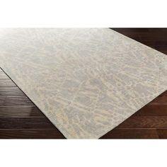 Shibori Area Rug | Gray Modern Rugs Hand Loomed | Style SHB8001