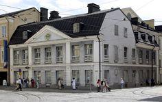 Helsinki Senaatintorin rakennus (Cederholm) (4355). arkkitehtuuri, eero j. laamanen, helsinki, kivitalo, rakennus, senaatintori, talo
