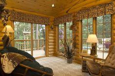 Log Cabin by Golden Eagle Log Homes