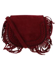9af6dde9aa Utopia Fringe Saddle Crossbody Bag Red