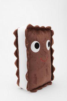 "kidrobot's 13"" Ice Cream Sandwich Plush by Heidi Kenney #toys #cute #plush"