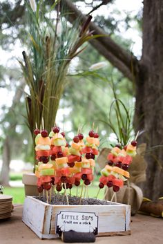 Fruit on a stick