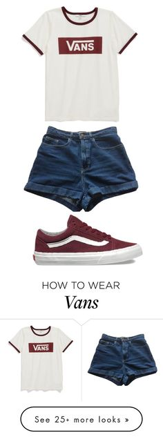 """Vans"" by sydthekyd01 on Polyvore featuring Vans and American Apparel"