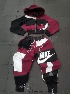 Cute Lazy Outfits, Swag Outfits For Girls, Cute Swag Outfits, Girls Fashion Clothes, Teen Fashion Outfits, Teenager Fashion, Baddie Outfits Casual, Sporty Outfits, Retro Outfits