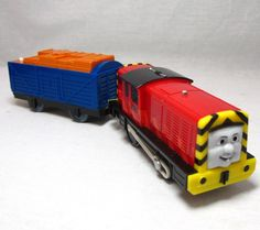 "Salty Plastic Train 2010 Mattel Thomas & Friends Freight Car Trackmaster 4.5"" #Mattel"