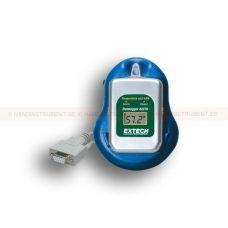 http://logger.nu/temperatur-loggers-r34851/temperatur-datalogger-kit-med-pc-granssnitt-53-42265-r34873  Temperatur Datalogger Kit med PC-gränssnitt   Brett mätområde: -40 till 85 ° C  Registrerar upp till 8000 avläsningar  Används till kyl-container, kyltransportbilar, frysar mm för att övervaka temperatur  Loggar data för dagar, veckor eller månader - upp till 1 års batteritid  Flera 53-42260 dataloggrar kan programmeras och data hämtas från en enda dockningsstation...
