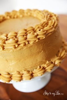 caramel frosting recipe