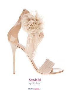 3c9fdc87c5dd6 szpilka beżowe - Sandałki - np Ślubne Fab Shoes