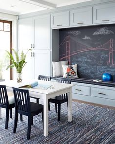 When a photo catches my eye instantly I know it's worth sharing - what's your favorite part about this space by Suzanne Childress Design?! ⚓️