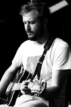 "Said, ""Wait one minute, son, you're right; they're just listening. Worried, sinned, and lacking sight, wanting christening. Go shine this motherfucking light on all the people who can hear."" Bon Iver/Justin Vernon"