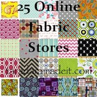 25 Online Fabric Stores