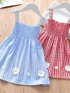 Kids Outfits Girls, Dresses Kids Girl, Toddler Outfits, Girl Outfits, Baby Dresses, Fashion Kids, Toddler Fashion, African Dresses For Kids, Kids Dress Wear