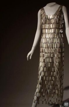 Dress Paco Rabanne, 1968 The Museum at FIT