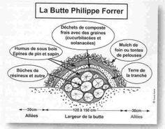 La culture sur buttes fiche technique culture for Creer une butte permaculture