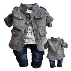 Carters Newborn 3 6 9 12 Months Fox Cardigan Pants Set Baby Boy ...