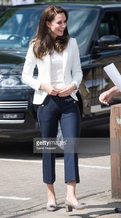 Catherine, Duchess of Cambridge visits the 1851 Trust roadshow at Docklands Sailing and Watersports Centre on June 16, 2017 in London, England.  The Duchess of Cambridge is patron of the 1851 Trust.  (Photo by Samir Hussein/Samir Hussein/WireImage)