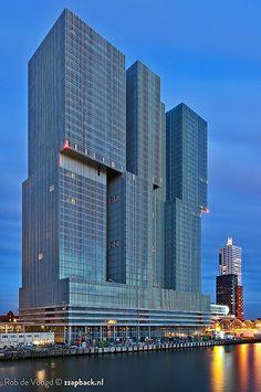 "MASSIVE! ""De Rotterdam"" by Rem Koolhaas / Rotterdam"