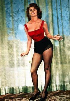 "redlipsandwine: ""Sophia Loren """