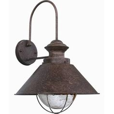 rusty outdoor light - Google Search