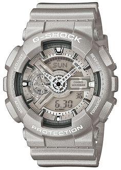 G-SHOCK-limited watch silver GA-110BC-8AJF