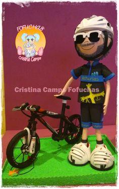 Cristina Camps Fofuchas: FOFUCHO CON BICICLETA