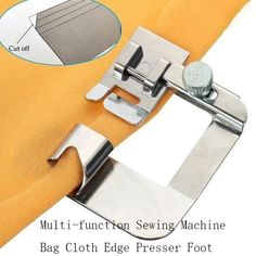 Buy Overlock Overedge Overcasting Foot for Brother Singer Janome Juki Sewing Machine at Wish - Shopping Made Fun Sewing Projects For Beginners, Sewing Tutorials, Sewing Hacks, Sewing Tips, Sewing Ideas, Fat Quarter Projects, Diy Couture, Leftover Fabric, Janome