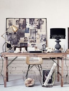 The art of modern living - Creative office space. ©Photography Sara Svenningrud ©Styling Marie Olsson Nylander