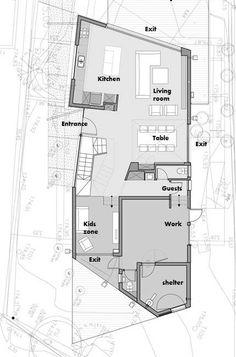 Wo House,Floor Plan